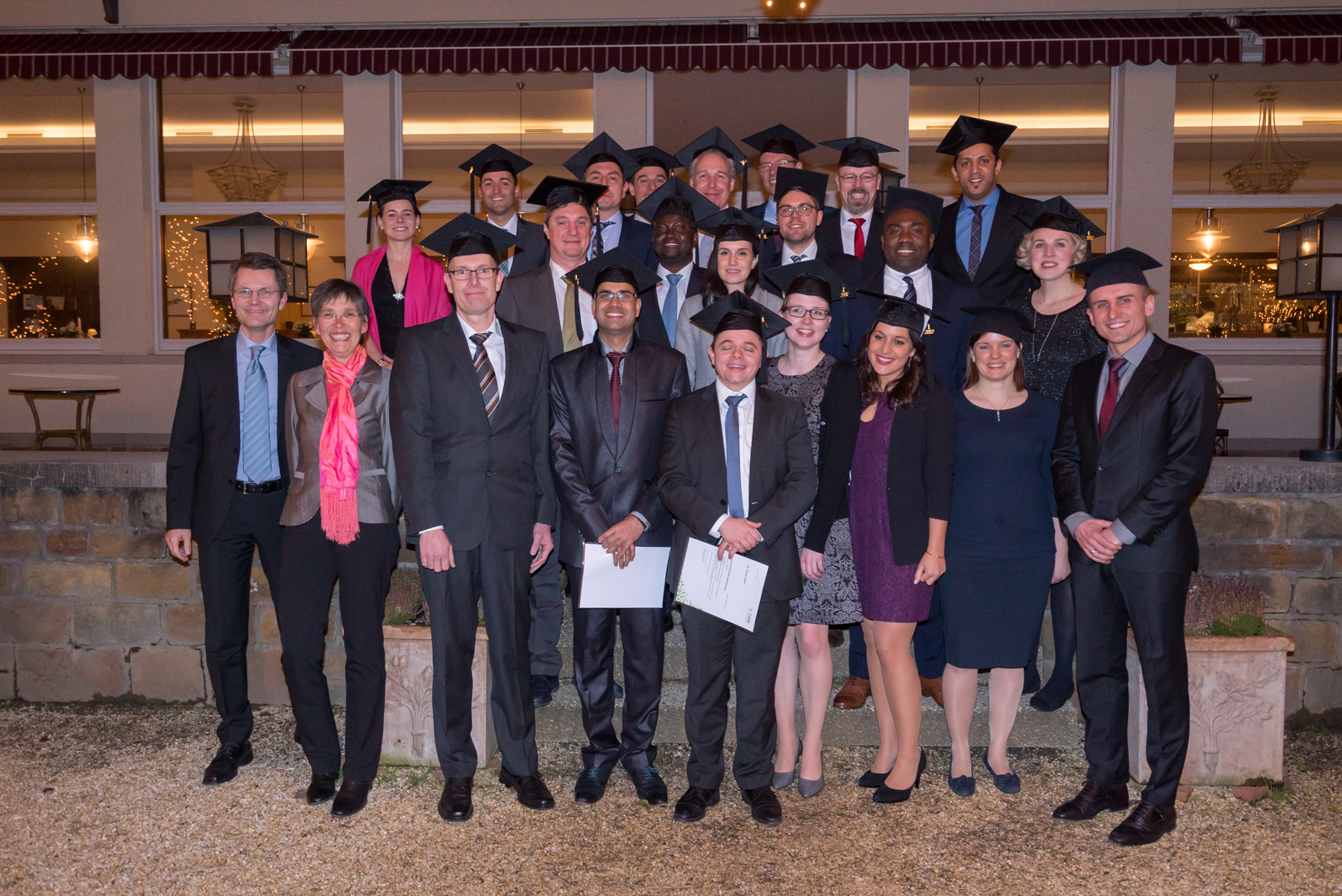 Graduation class 2018 in Bad Nauheim